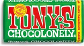 Tony's Chocolonely Melk Hazelnoot Chocolade Reep - 180 gram