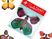 Vliegende vlinder voor wenskaarten