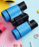 Speelgoed Verrekijker voor Kinderen - Mét Opbergtasje - Blauw - Verrekijker Speelgoed - Verrekijker Kinderen
