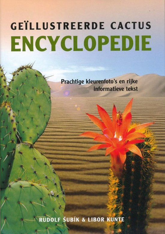 Geillustreerde cactus encyclopedie