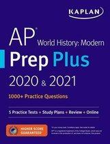 Boek cover AP World History Modern Prep Plus 2020 & 2021 van Kaplan Test Prep