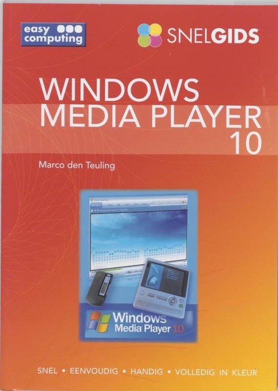 Cover van het boek 'Snelgids Windows media player 10'