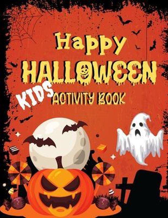 Happy Halloween Kid's Activity Book