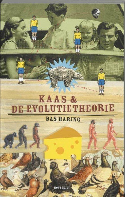 Boek cover Kaas en de evolutietheorie van Bas Haring (Paperback)