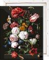 Bloemen in Vaas met frame
