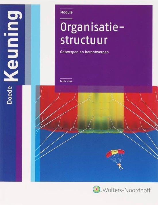 Organisatiestructuur - Doede Keuning