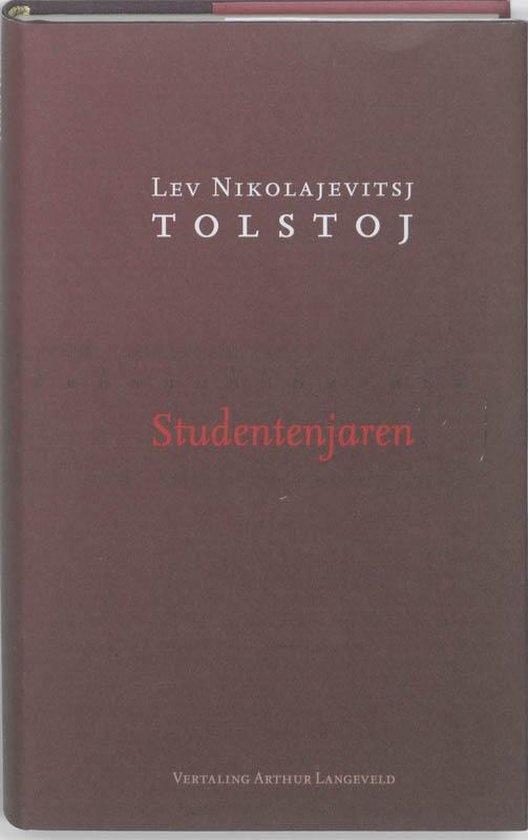 Boek cover Studentenjaren van Lev Nikolajevitsj Tolstoj (Hardcover)