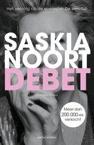 Boek cover Debet van Saskia Noort