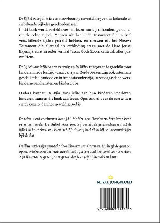 De bijbel voor jullie - J.H. Mulder - van Haeringen