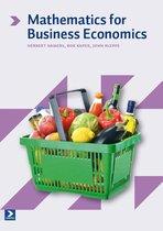 Boek cover Mathematics for Business Economics van Herbert Hamers (Paperback)
