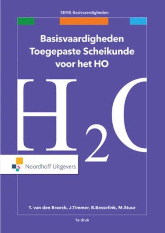 Omslag van Basisvaardigheden - Basisvaardigheden toegepaste scheikunde voor het HO
