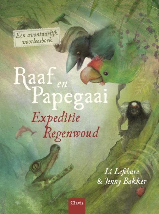 Raaf en Papegaai