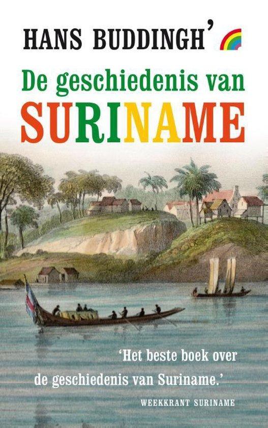 Boek cover De geschiedenis van Suriname van Hans Buddingh (Paperback)
