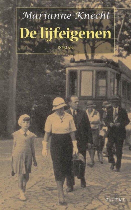 Cover van het boek 'De lijfeigenen' van M. Knecht