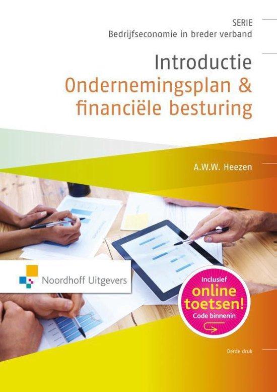 Boek cover Introductie ondernemingsplan & financiele besturing van A.W.W. Heezen (Paperback)
