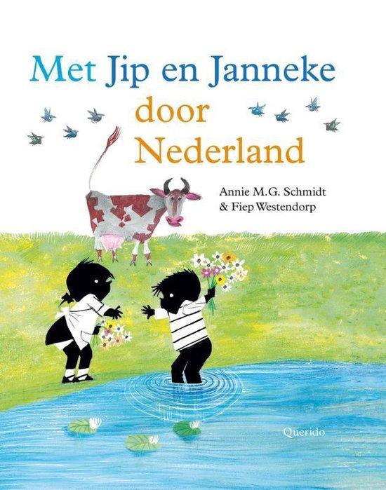 Boek cover Met Jip en Janneke door Nederland van Annie M.G. Schmidt (Hardcover)