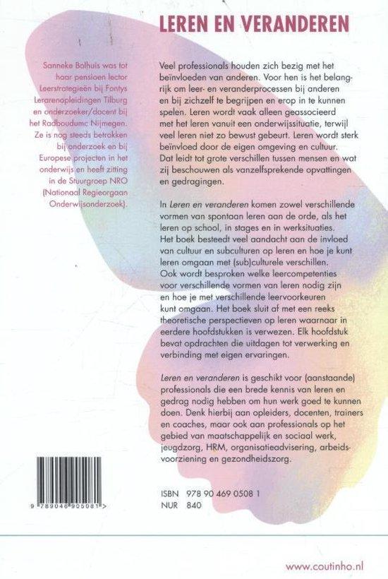 Leren en veranderen - Sanneke Bolhuis