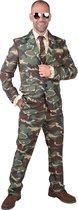 Magic Design Verkleedpak Camouflage Heren Polyester Maat S