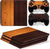 Wood Colors – PS4 Pro Skin | Playstation 4 Pro console en 2 controller skins