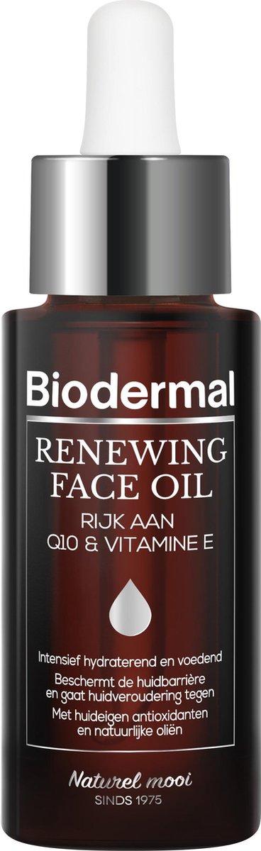 Biodermal Renewing Face Oil – Gezichtsolie met krachtige huideigen antioxidanten Q10 - Perfect te me
