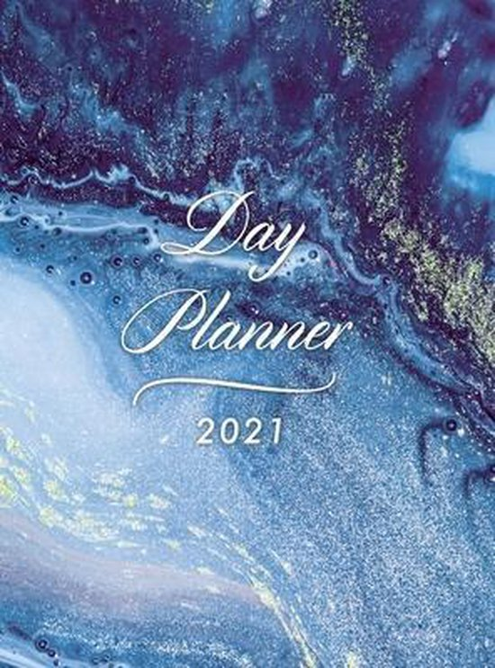 Day Planner 2021 Daily Large