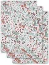 Jollein Washandjes hydrofiel Bloom 3pack