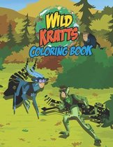 Wild Kratts Coloring Book