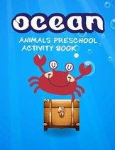 Ocean animals preschool activity book