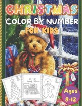 Christmas Color By Number For Kids Ages 8-12