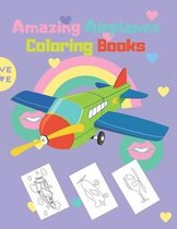 Amazing Airplanes Coloring Books