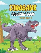 Dinosaur Coloring Book for Kids Ages 9-12