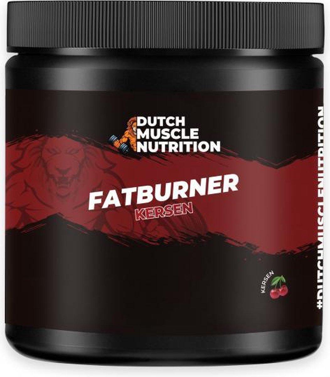 Dutch Muscle Nutrition Fatburner   Kersen (300 gram) + Gratis Gift!