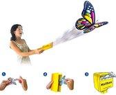 Vliegende Vlinder - Kaarten - Wenskaarten - Verjaardagskaarten - Flying Butterfly - Verrassing - Verjaardagskaarten - Trouwkaarten - Vrijgezellenfeest - Trouwfeest