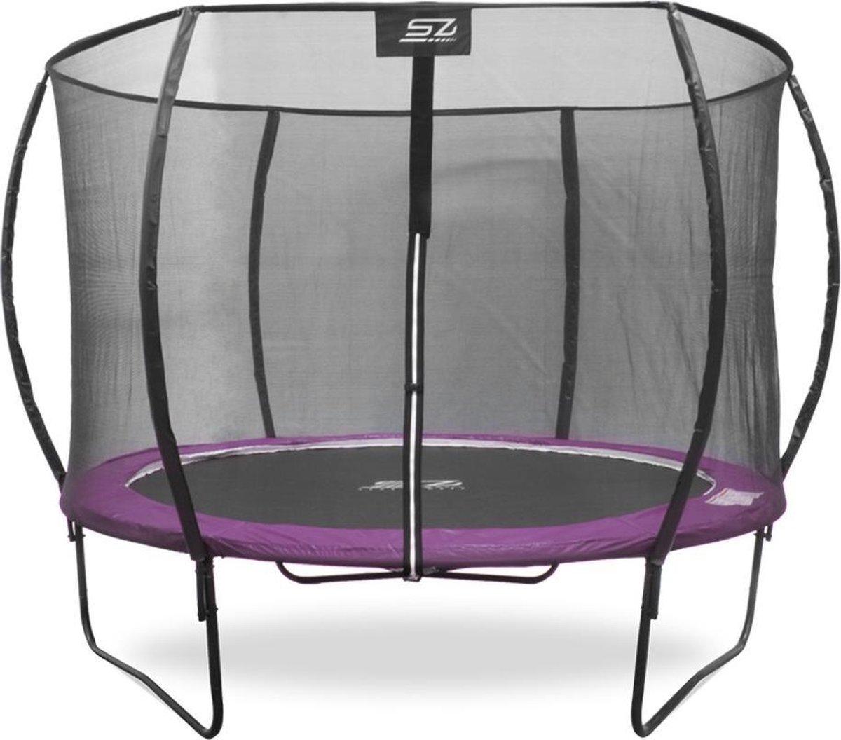 Trampoline - Senz Sports J3000 Series - 427 cm - Roze