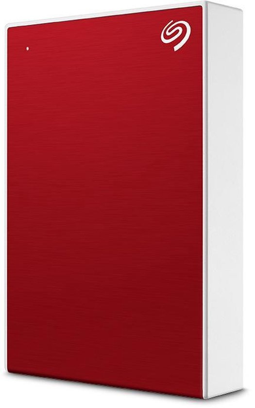 Seagate One Touch - Draagbare externe harde schijf - 4TB / Rood