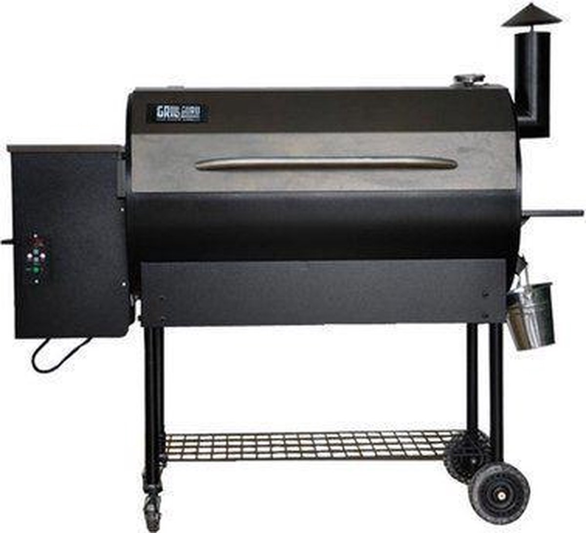 Grizzly Pelletgrill Large Deluxe - antraciet