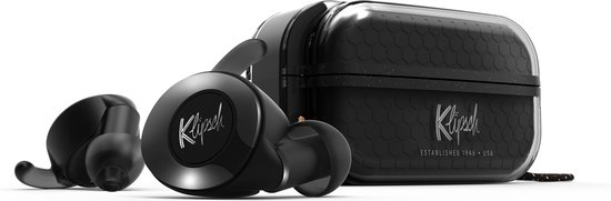 Klipsch T5 II TRUE WIRELESS SPORT ZWART