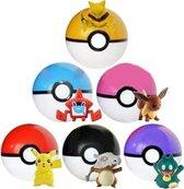 Pokémon ballen set 6 stuks !