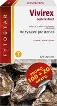 Fytostar Vivirex – Voor het libido – Man prestatie– 120 capsules