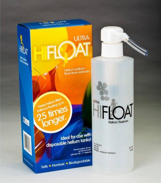 Helium Gel Ultra Hi-Float incl. Pomp 160z