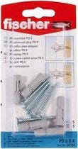 Fischer DHZ PD 8sK plaatpluggen met schr(5x) 30184