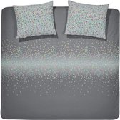 Damai dekbedovertrek Night Grey 200x200cm + 2x 80x80cm