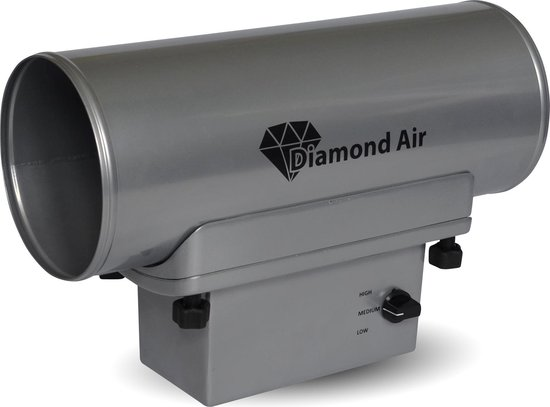 Luchtreiniger Virussen en Bacteriën - Ozon generator - Diamond Air Pro DIA-160