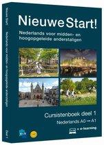 Boek cover Nieuwe Start! Nederlands voor midden- en hoogopgeleide anderstaligen Deel 1 / 0-A1 van Ncb