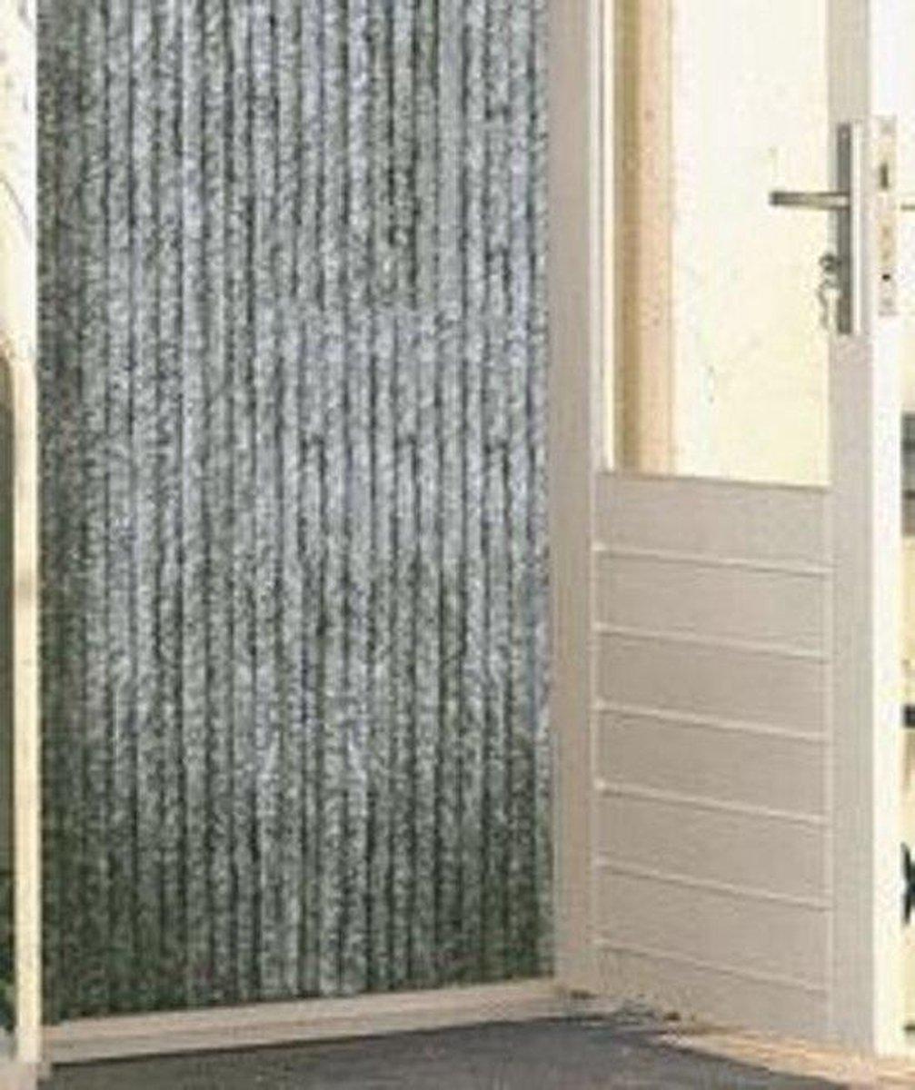 Vliegengordijn Kattenstaart - 240 x 100 cm - grijs