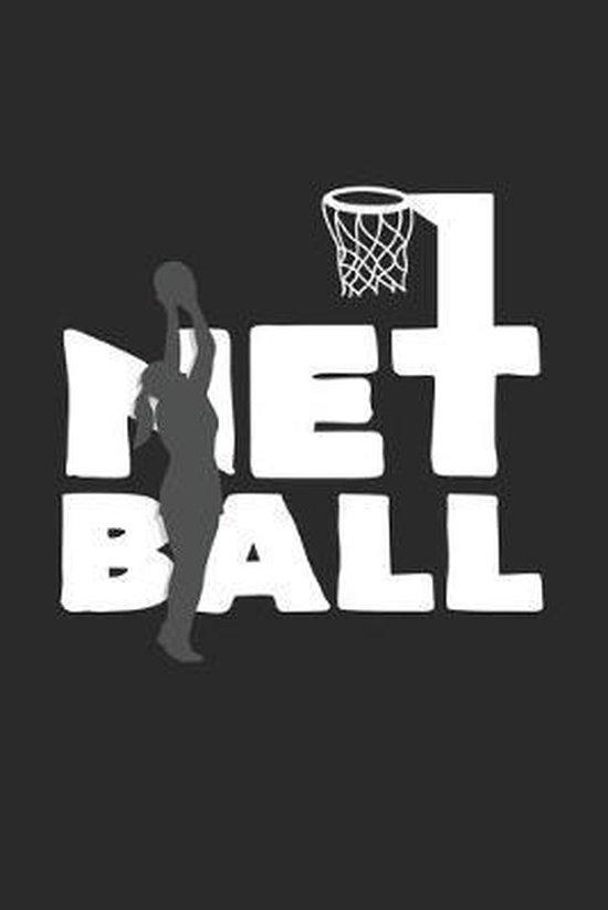 Netball: 6x9 Netball - dotgrid - dot grid paper - notebook - notes