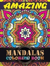 Amazing Mandalas Coloring Book
