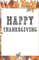 Happy Thanksgiving: Fun Coloring Book for Kids