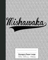 Hexagon Paper Large: MISHAWAKA Notebook
