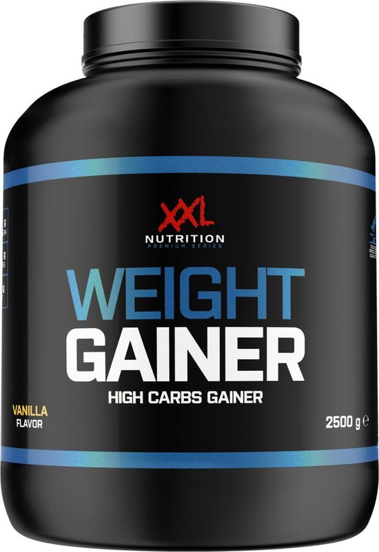 XXL Nutrition - Weight Gainer - 2500 gram - Vanille - Weight Gainer / Aankomen